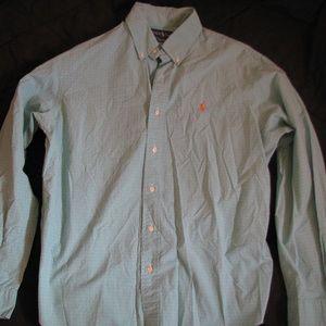Polo Ralph Lauren Long-Sleeve Button-Down Shirt, L